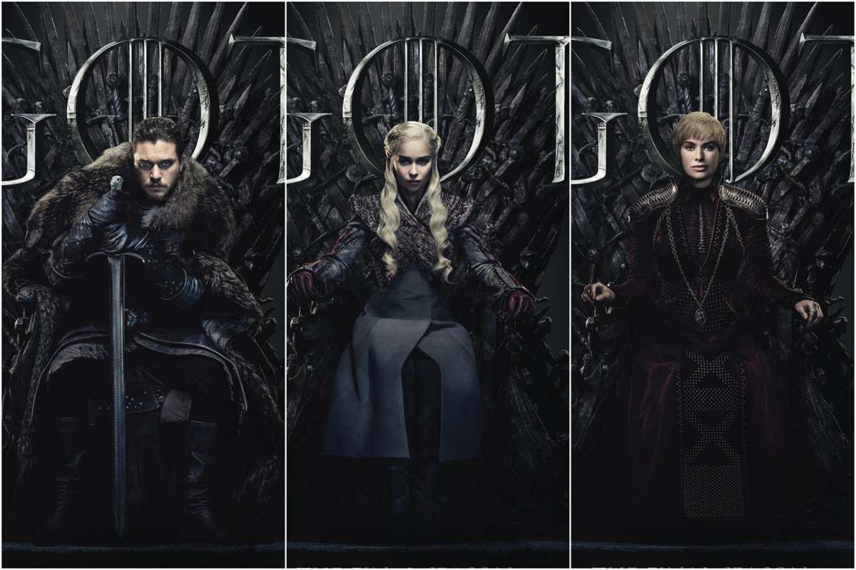 Game of Thrones final season poster